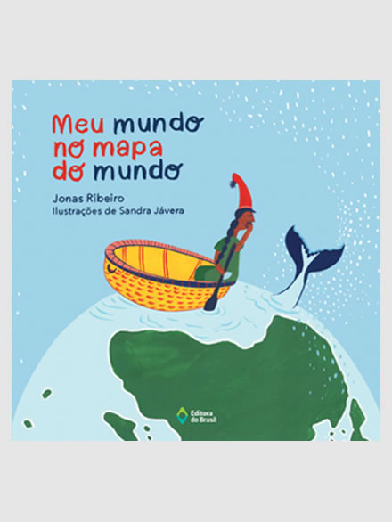 Meu mundo no mapa do mundo