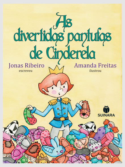 As divertidas pantufas de Cinderela